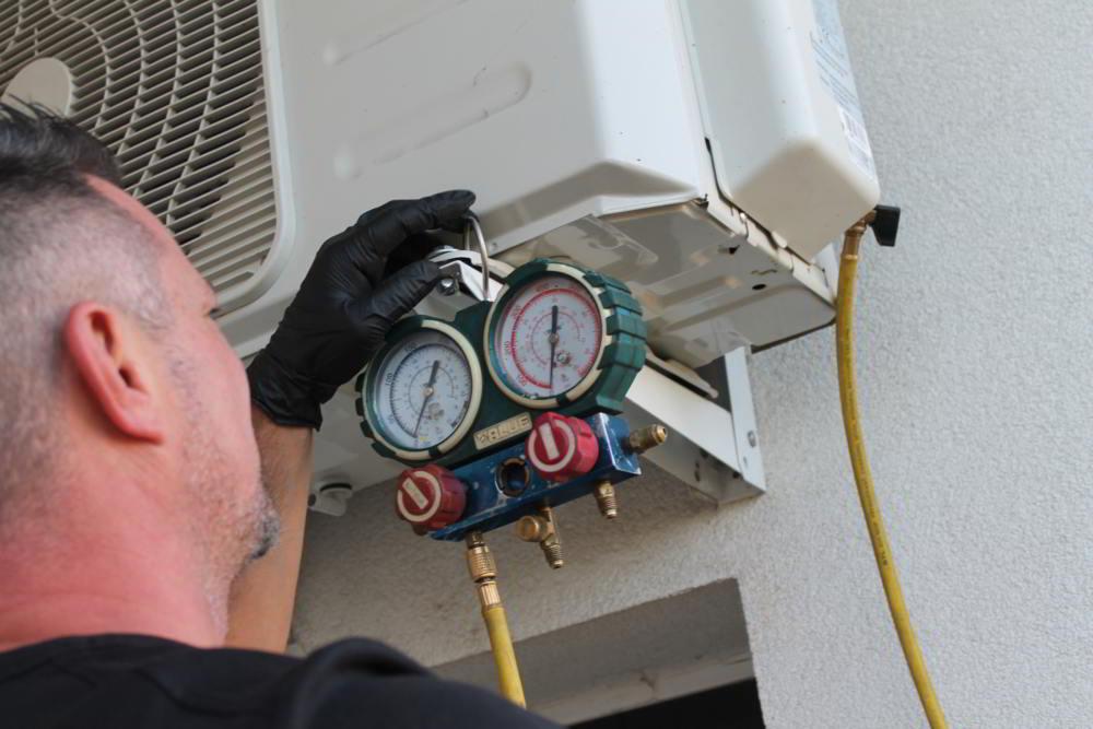 Gáznyomás ellenőrzés