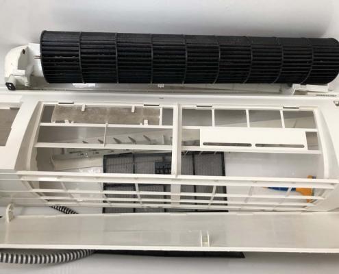 Hűtő - fűtő klíma tisztítás